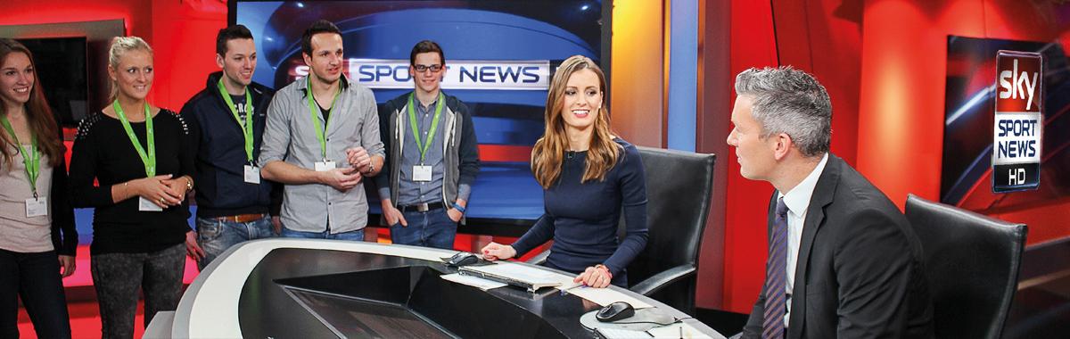 Sportjournalismus & -management Bachelor Studium | Campus M21