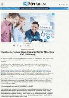 Open-Campus-Day Merkur